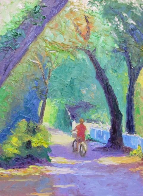 ArtftJ - pathway painting