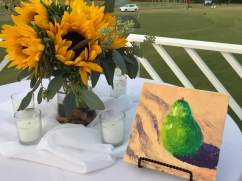 Sunflowers from Buckingham Greenery and Painting by Steve Sawyer