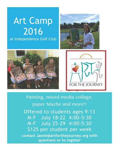 Jamie's Children's Workshops 2016 copy